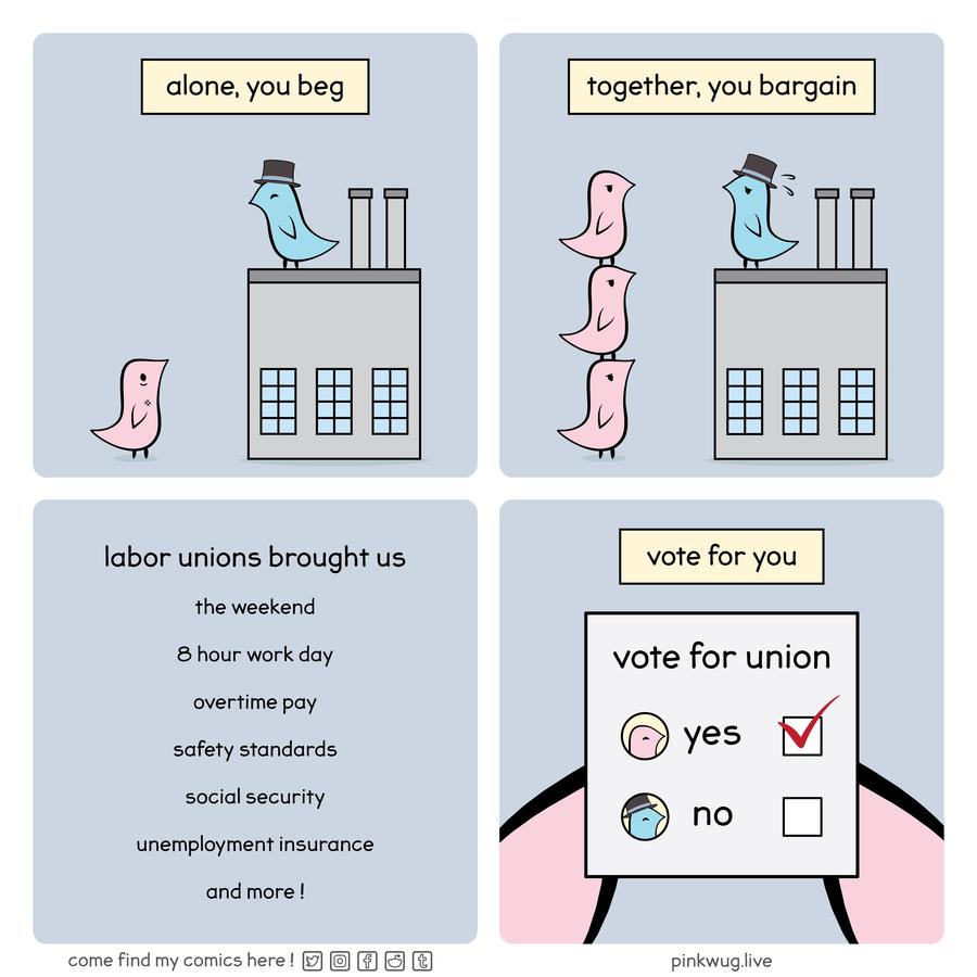 Together, you bargain